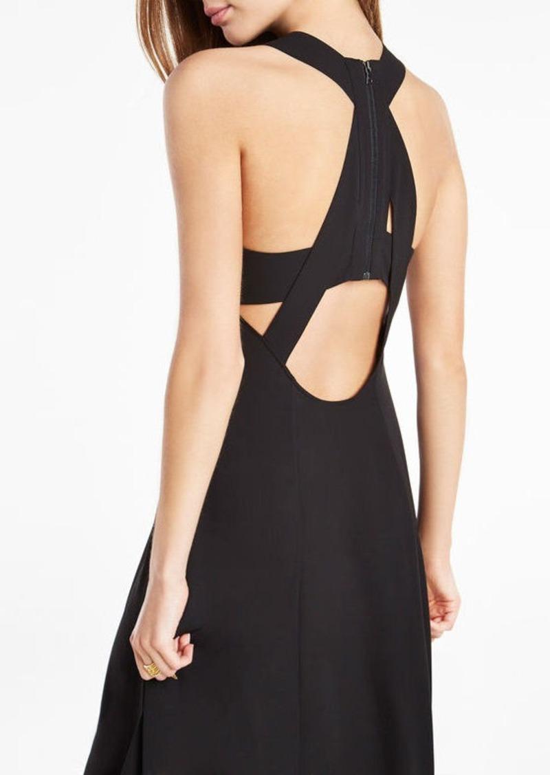 BCBG Ariell Open-Back Asymmetrical Dress