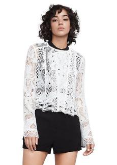 Ash Geometric Lace Jacket