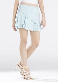 Ashleah Asymmetrical Tiered Ruffle Skirt