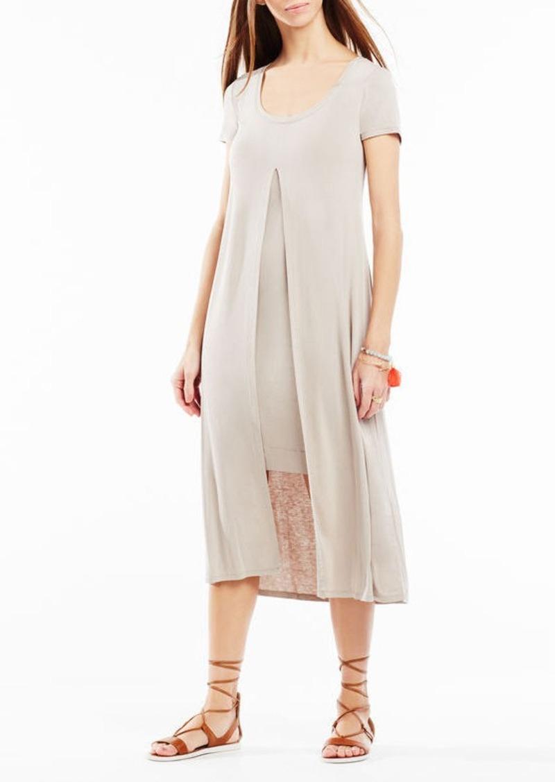 BCBG Audreigh Layered Midi Dress