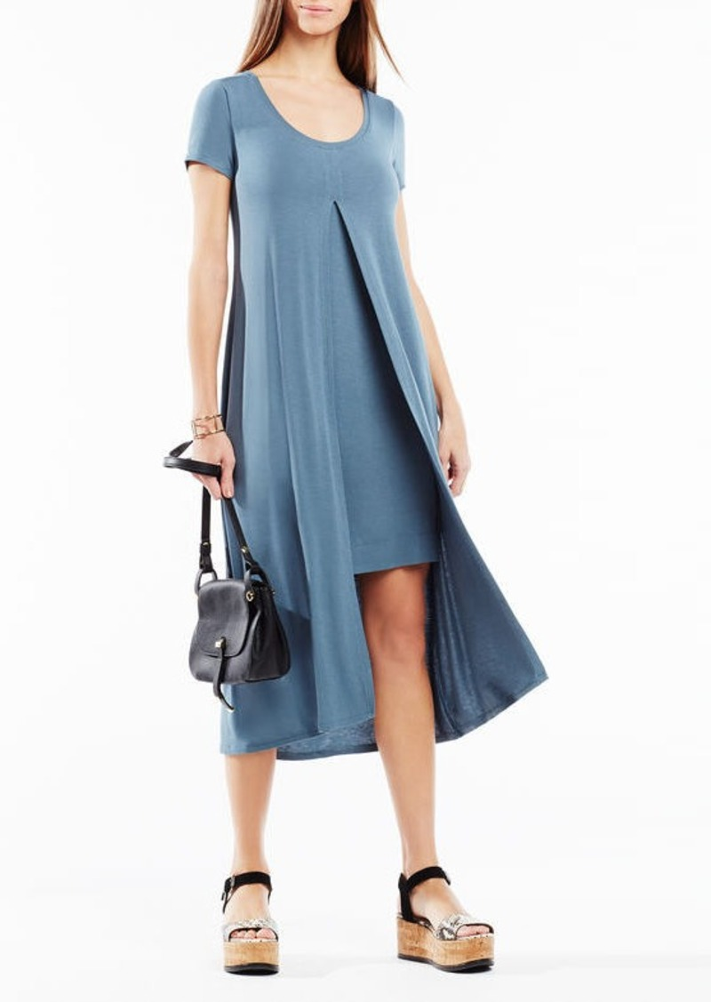 BCBG Audreigh Layered Midi Dress