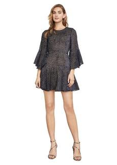 Baylee Velvet Burnout Dress