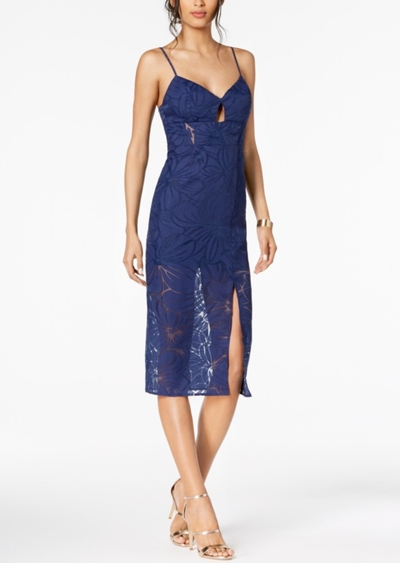 Bcbg Burnout A-Line Dress