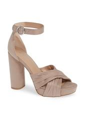 BCBG Flora Platform Sandal (Women)