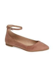 BCBG Malinda Ankle Strap Flat (Women)