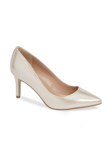BCBG Marci Metallic Pointy Toe Pump (Women)