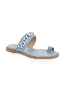 BCBG Zola Chain Slide Sandal (Women)