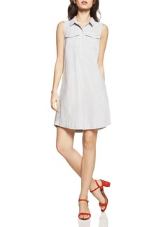 BCBGeneration A-Line Cargo Pocket Shirt Dress