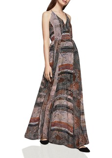 BCBGeneration Abstract Dot Print Maxi Dress