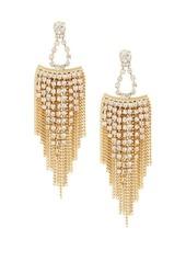 BCBGeneration Angeleno Crystal Stone Chandelier Earrings