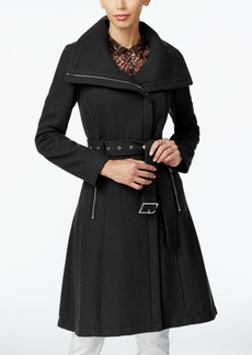 BCBGeneration Asymmetrical A-Line Walker Coat