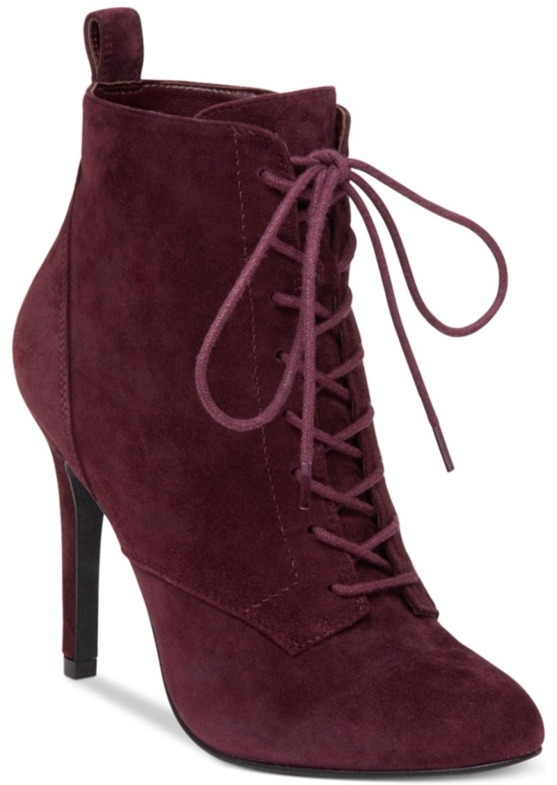 aa57ab1df3f BCBG BCBGeneration Banx Lace-Up Booties Women's Shoes | Shoes