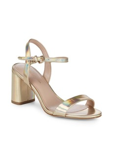 BCBG Becca Washed Iridescent Sandals