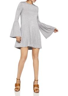 BCBGeneration Bell Sleeve Cutout Dress