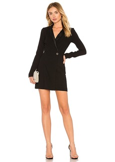 BCBGeneration Blazer Dress In Black in Black. - size 0 (also in 2,4,6,8)