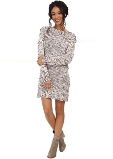 BCBGeneration Boat Neck Boucle Dress