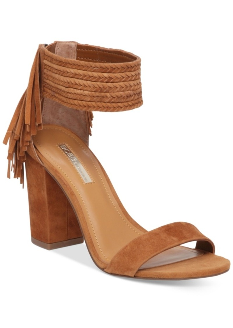 d54fb5aee BCBG BCBGeneration Calizi Block-Heel Sandals Women s Shoes Now  24.49