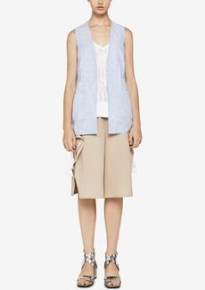 BCBGeneration Candy-Stripe Patch-Pocket Vest