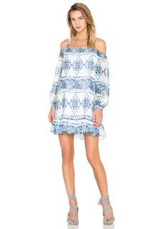 BCBGeneration Cold Shoulder Halter Dress
