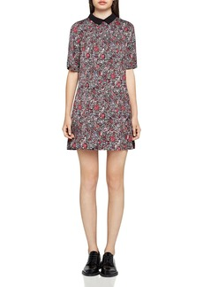 BCBGeneration Collared A-Line Dress