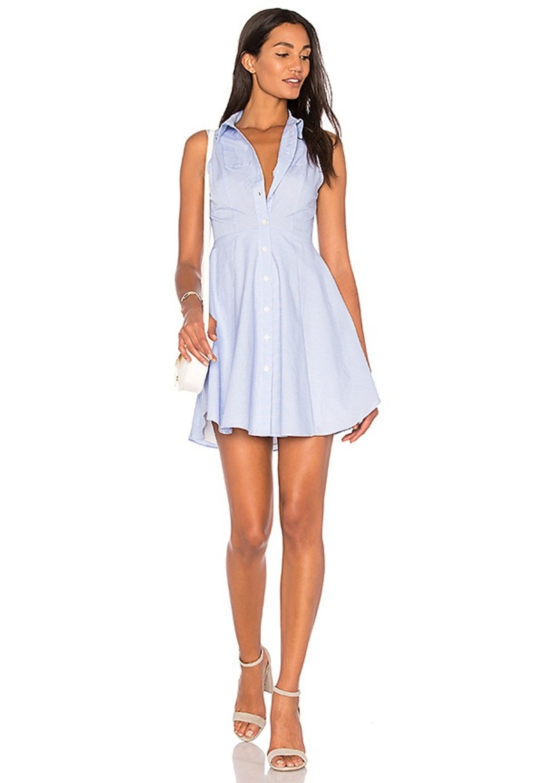 BCBGeneration Collared City Dress in Blue. - size 10 (also in 12,2,4,6,8)