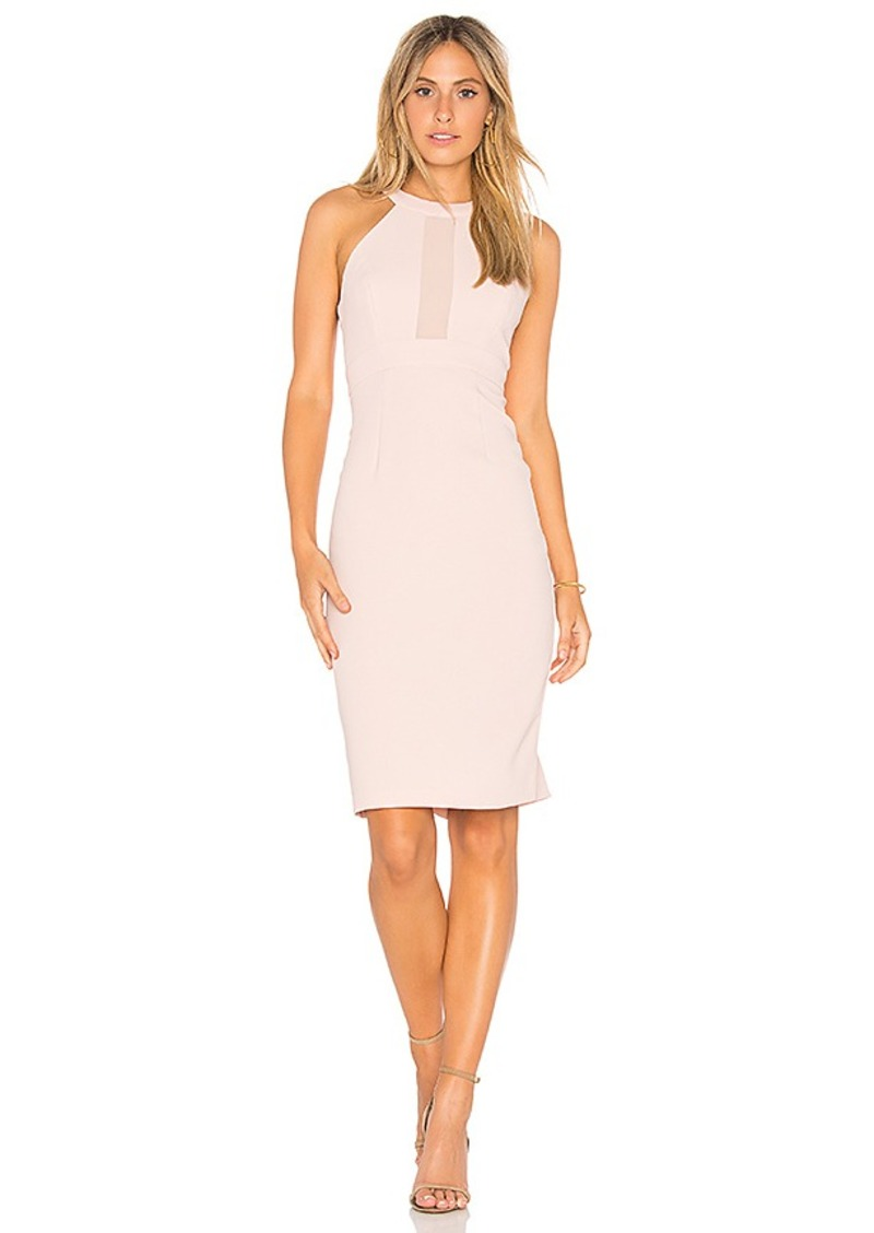 BCBGeneration Contrast Dress in Blush. - size 0 (also in 2,4,6,8)