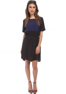 BCBG Contrast Front Dress