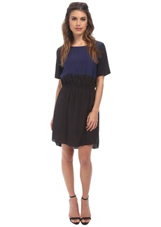 BCBGeneration Contrast Front Dress