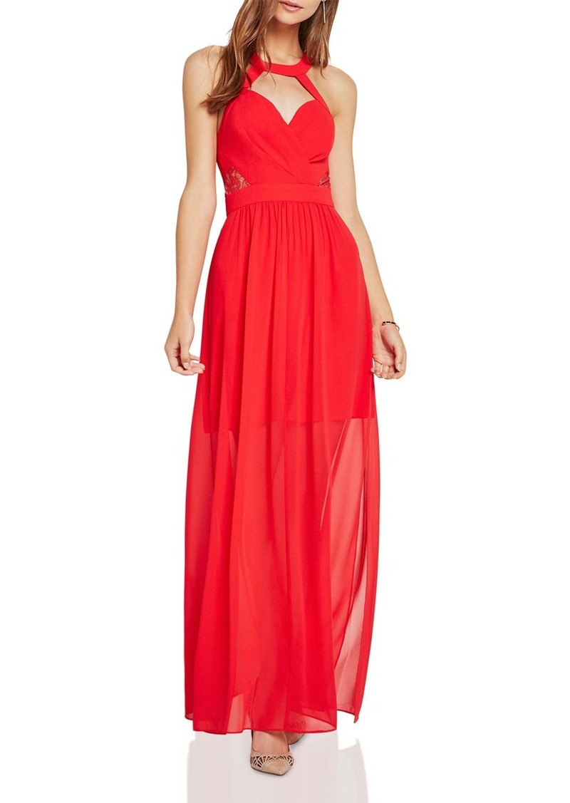 BCBGeneration Crossover Evening Dress
