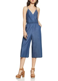 BCBGeneration Culotte Denim Jumpsuit
