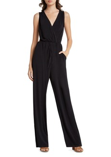 BCBGeneration Cutout Back Jumpsuit