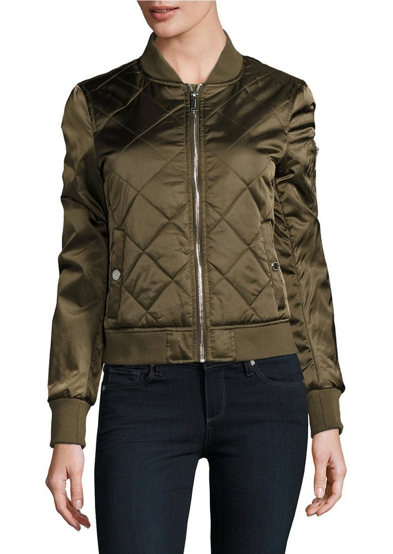 BCBGENERATION Diamond Quilted Bomber Jacket