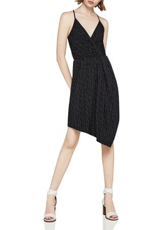 BCBGeneration Dot Print Asymmetric Dress