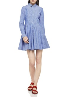 BCBGeneration Dot Striped Shirt Dress