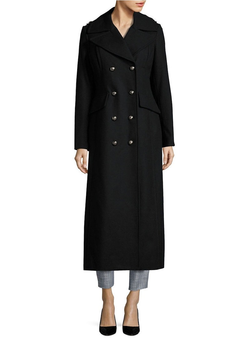 BCBGENERATION Double-Breasted Long Peacoat