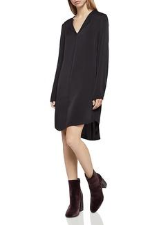 BCBGeneration Double-Collar Shirttail Dress