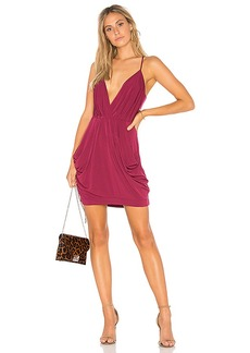 BCBGeneration Draped Dress in Wine. - size M (also in L,S,XS)