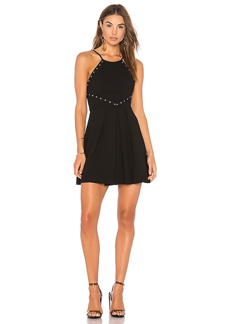 BCBGeneration Dress With Trims In Black in Black. - size 0 (also in 2,4,6,8)