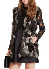 BCBGeneration Dyed Faux Fur Vest