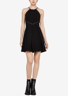 BCBGeneration Embellished Fit & Flare Dress