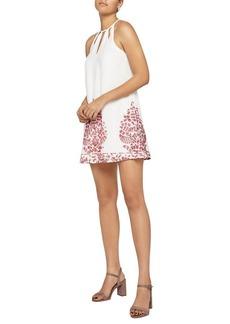 BCBGeneration Embroidered A-Line Dress
