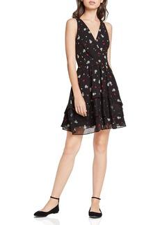 BCBGeneration Falling Daisy Crossover Dress