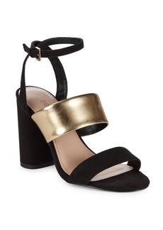 BCBG Farryn Micro Block Heel Sandals