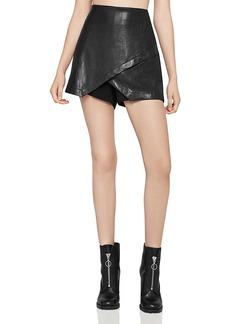 BCBGeneration Faux-Leather Skort
