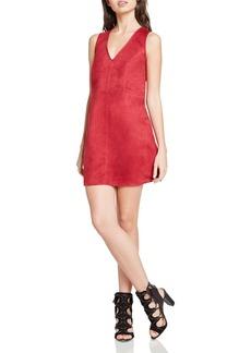 BCBGeneration Faux-Suede A-Line Dress