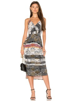 BCBG Faux Wrap Dress