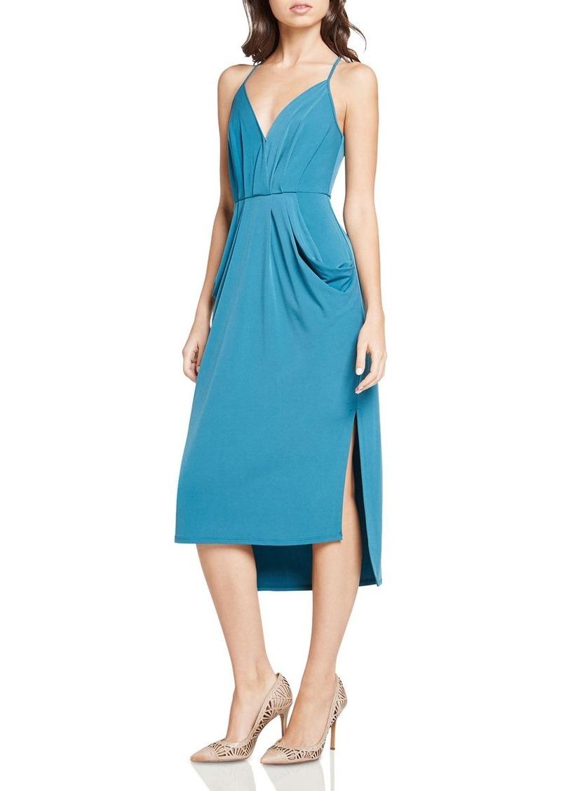 BCBG BCBGeneration Faux-Wrap Midi Dress | Dresses