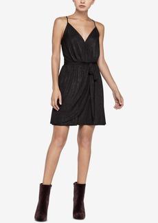 BCBGeneration Faux-Wrap Mini Dress
