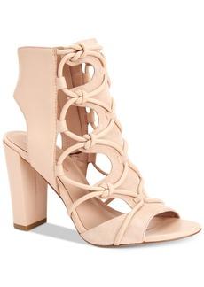 BCBGeneration Faye Peep-Toe Sandals Women's Shoes