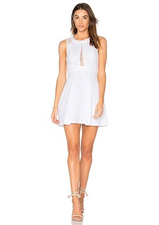 BCBGeneration Fit & Flare Dress in White. - size 0 (also in 10,12,2,4,6,8)